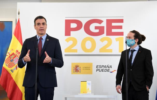 Presupuestos Pedro Sánchez Pablo Iglesias