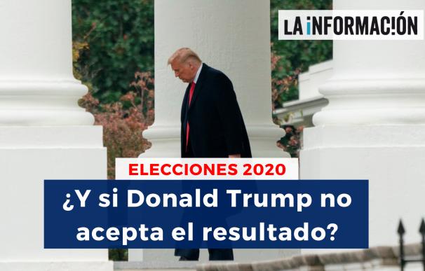 Que pasa si Donald Trump no acepta el resultado