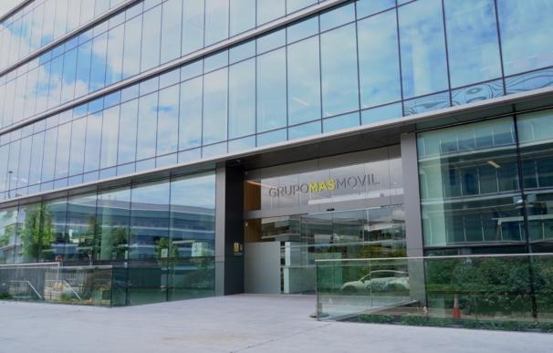Fachada de la sede central del Grupo MásMóvil