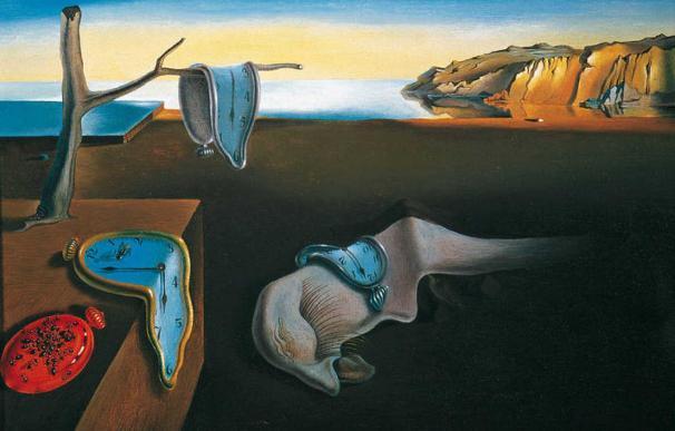 La persistencia de la memoria, de Salvador Dalí.