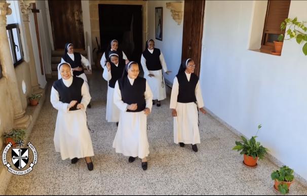 Las monjas de clausura Cáceres baile coreografía jerusalema