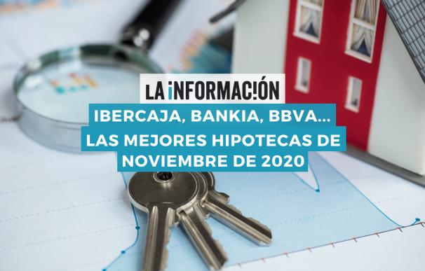 Las mejores hipotecas de noviembre de 2020.