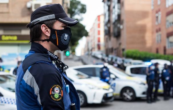 Un Policía Municipal de Madrid