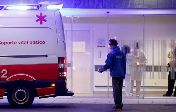 Ambulancia hospital coronavirus
