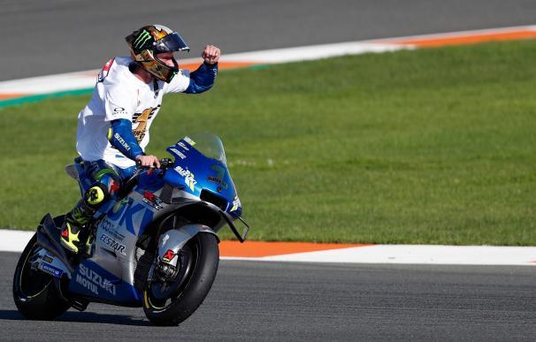 El piloto español de Moto GP, Joan Mir (Suzuki Ecstar) se ha proclamado campeón del mundo.