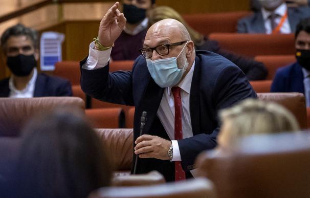 Portavoz del grupo parlamentario de Vox, Alejandro Hernández