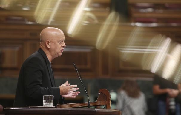 El diputado por Guipúzcoa del PSOE en el Congreso, Odón Elorza.