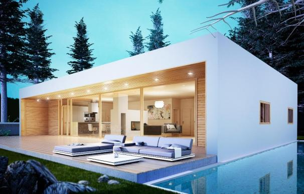 El modelo de casa prefabricada 150.