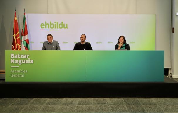 Asamblea de Bildu donde han decidido apoyar los PGE 2021