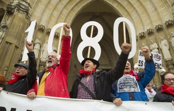 Pensionistas vascos se manifiestan