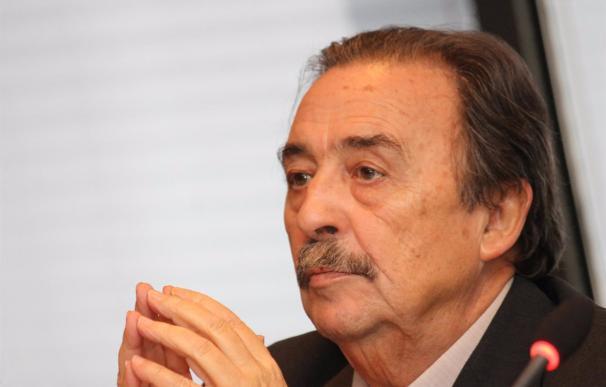 Juan de Dios Román, en su etapa como presidente Federación Española de Balonmano.