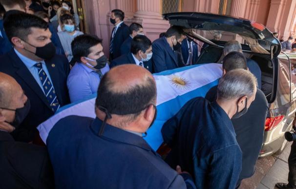 Funeral de Maradona