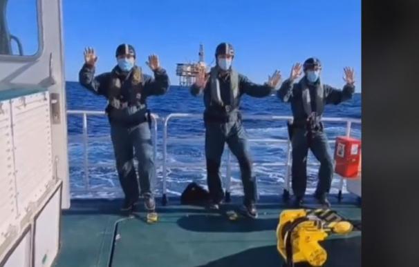 La Guardia Civil sube un vídeo a Tik Tok
