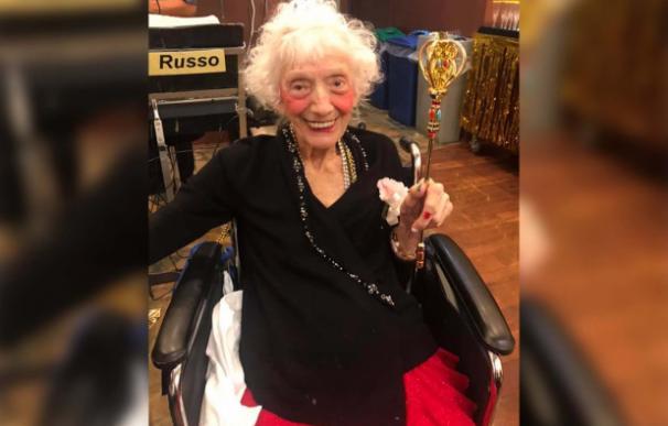 Angelina Friedman 102 anos covid