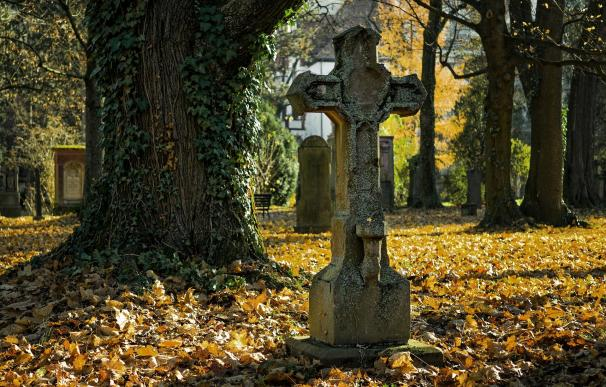 Madre e hijo fueron enterrados a la vez