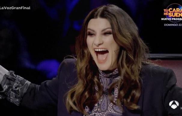 Laura Pausini en 'La Voz 2020'
