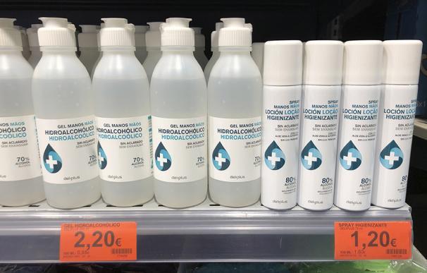 Nuevo spray para manos en Mercadona