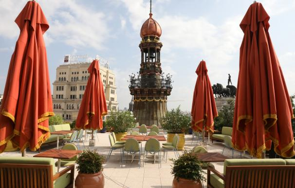 Terraza Hotel Four Seassons Madrid