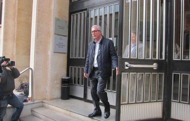 El alcalde de Tarragona Josep Fèlix Ballesteros tras declarar por el caso Inipro PALAU DE JUSTÍCIA DE TARRAGONA