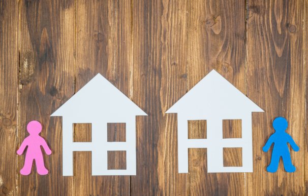 Divorcio atribucion segunda vivienda