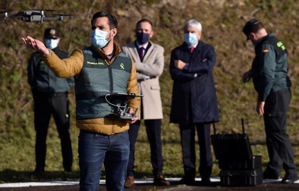 La Guardia Civil presenta su unidad de control de drones 17 de diciembre de 2020