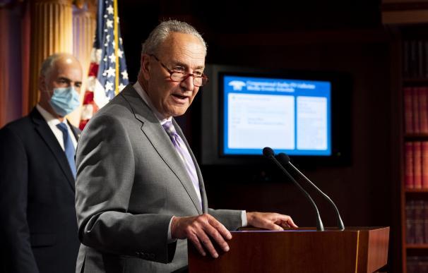 El senador demócrata Chuck Schumer ha sido uno de los líderes de su partido en la negociación del paquete.