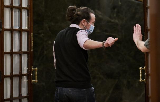 """Iglesias, del Teatro del Barrio a ser el """"cabezón"""" del Consejo de Ministros"""