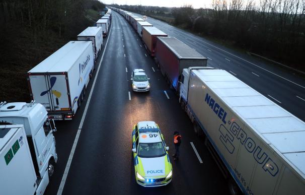 Frontera Reino Unido camiones