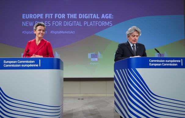Comisión Europea de la Digital Services Act