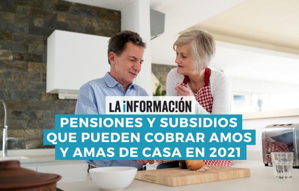 Los amos y amas de casa pueden cobrar subsidios y pensiones sin haber cotizado a la seguridad social.
