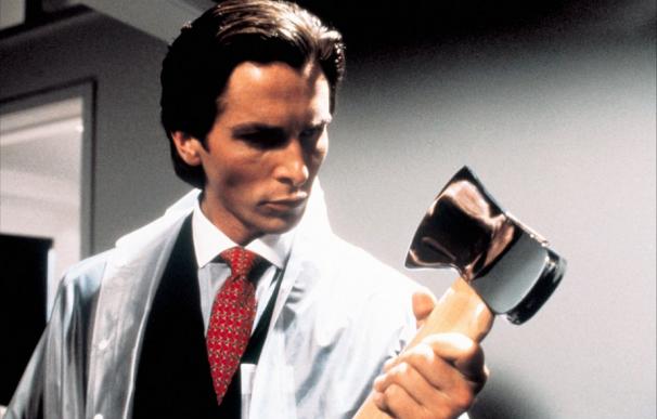 Christian Bale, como Patrick Bateman en American Psycho