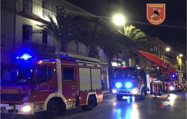 Incendio vivienda Alicante