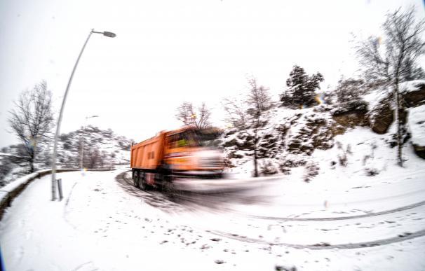 Segundo día en alerta por el temporal de nieve y frío que trae consigo la tormenta 'Filomena', que afecta particularmente a la comunidad autónoma de Castilla-La Mancha.