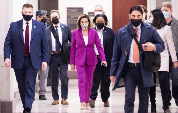 La presidenta de la Cámara de Representantes, Nancy Pelosi, en una imagen reciente.