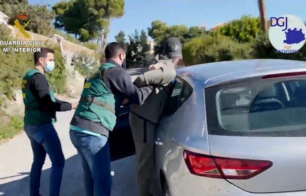 Así cae el mayor narcotraficante belga detenido por la Guardia Civil en Granada