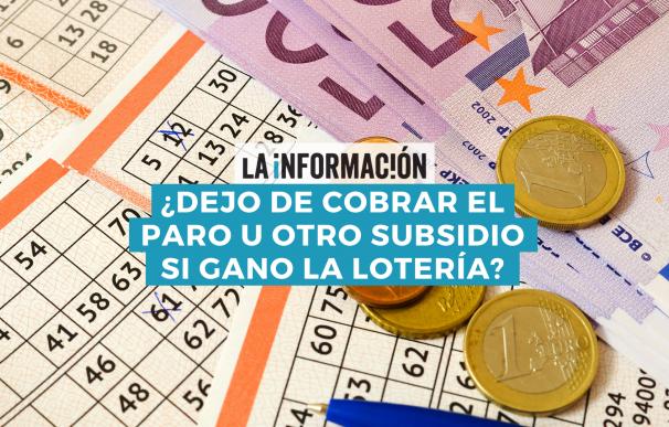 Ganar la Lotería puede tener consecuencias en el derecho de cobro de determinados subsidios.
