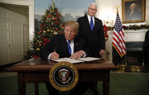 Trump provoca el rechazo de la comunidad internacional al reconocer Jerusalén como capital israelí.