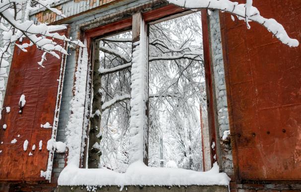 Zonas comunes mal estado nieve