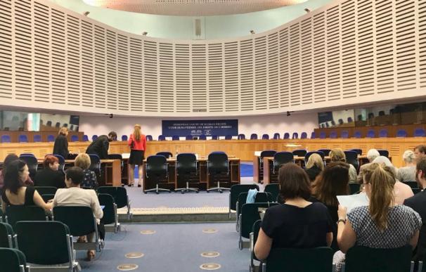 Sede del Tribunal Europeo de Derechos Humanos, en Estrasburgo.