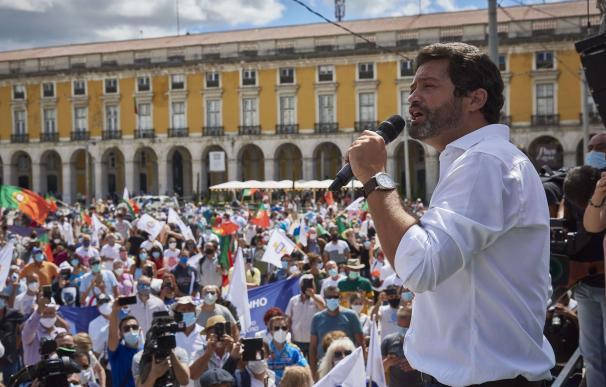 André Ventura, líder del ultraderechista partido Chega.