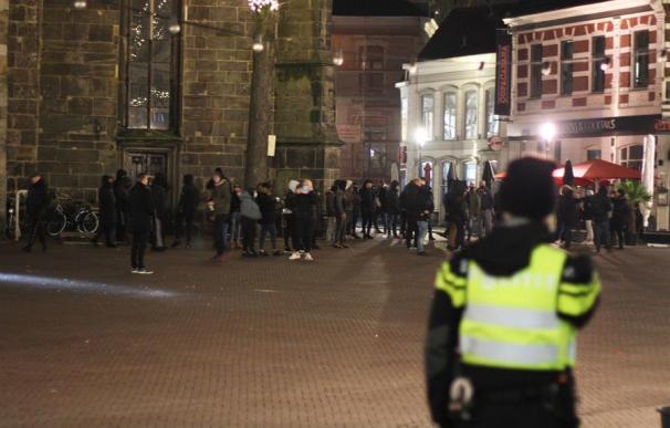Disturbios en Paises Bajos