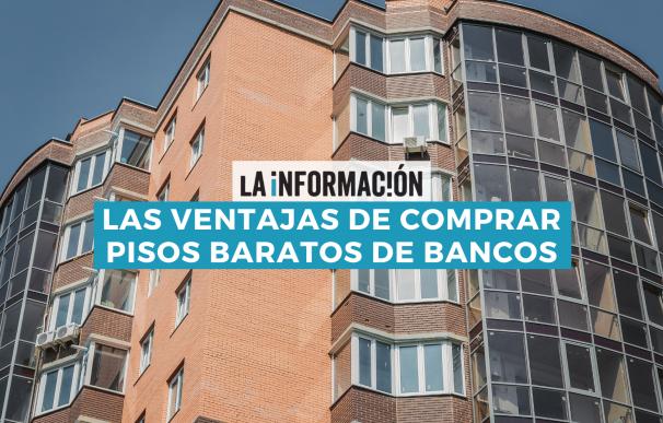 Comprar pisos baratos de bancos tiene ventajas desde el punto de vista hipotecario.