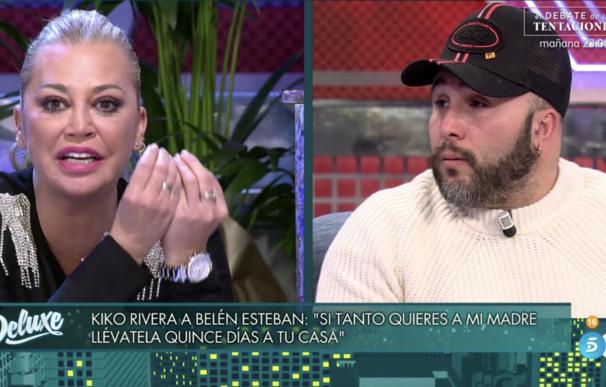 Belén Esteban frente a Kiko Rivera