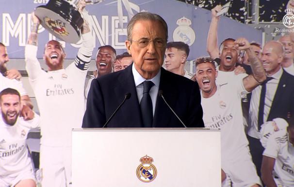 El Real Madrid anuncia que Florentino Pérez es positivo en coronavirus