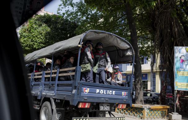 Golpe de Estado Myanmar