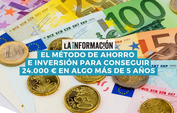 El método de ahorro e inversión para ganar 24.000 €.