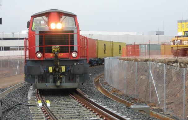 Llega El Primer Tren De Mercancías A La Terminal Tercat