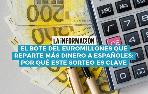El bote del Euromillones que más dinero da a españoles es el bote especial.