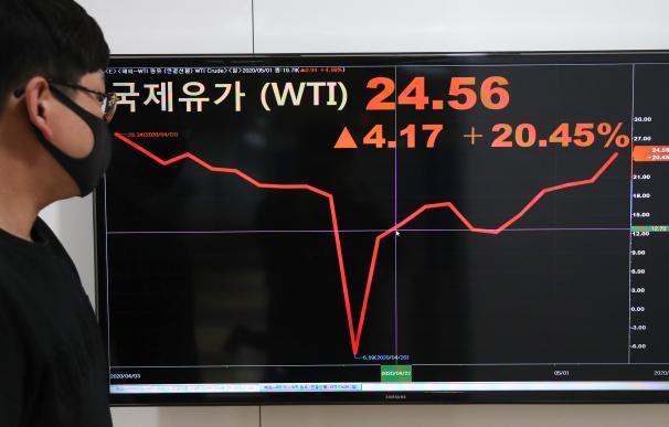 El petróleo marcó mínimos históricos en 2020 con precios negativos por primera vez en la historia.
