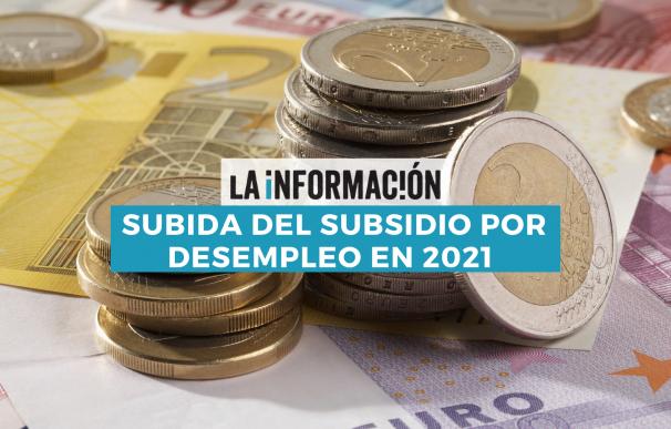 Subida del Subsidio por desempleo en 2021